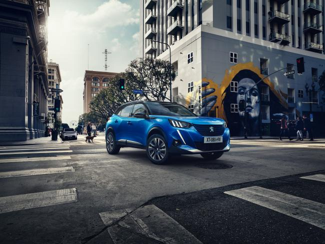 The new Peugeot 2008 SUV