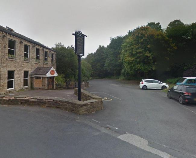The proposed site for the apartment complex on the former car park of The Waterside pub in Summerseat