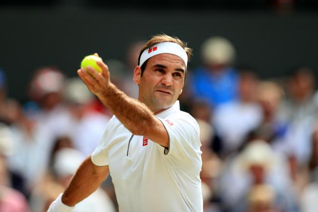 Roger Federer, pictured, plays Rafael Nadal