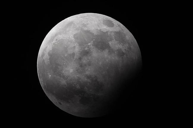 UK stargazers prepare for partial lunar eclipse. Pic credit: Press Association