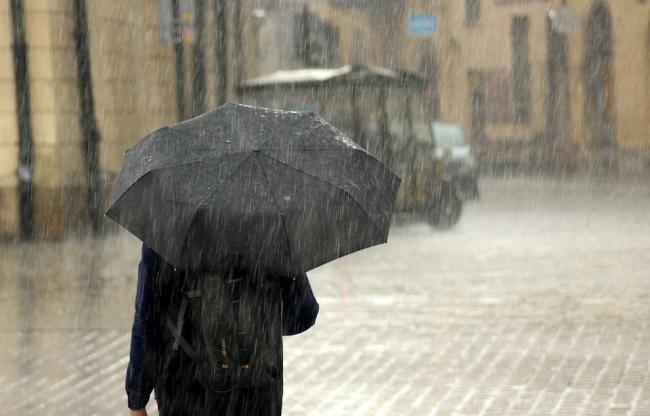 The Met Office have issued a weather warning for rain