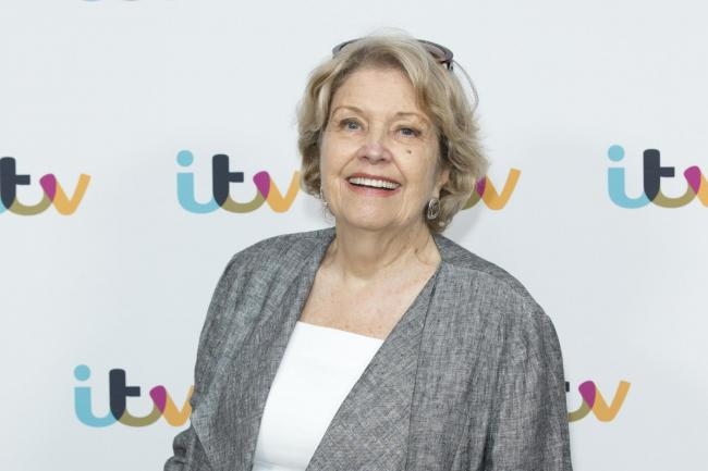 Actress Anne Reid, who plays Lady Denham in ITV drama Sanditon