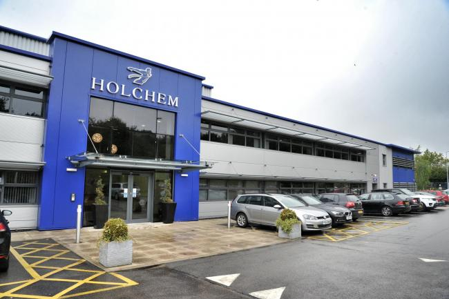 Holchem Laboratories Ltd, Gateway House, Pilsworth Road, Pilsworth Industrial Estate, Bury, BL9 8RD.