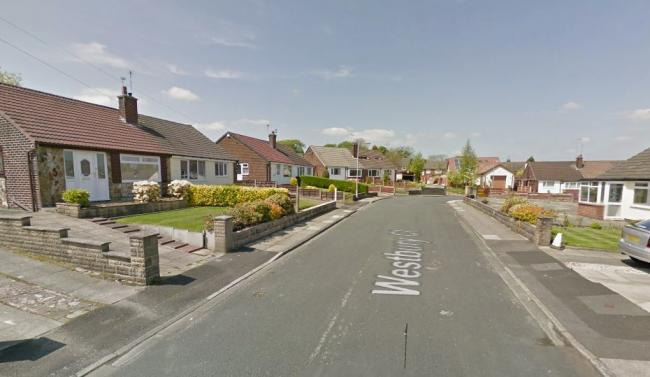 Emergency services were called to Westbury Close, Bury. Picture, Google Maps