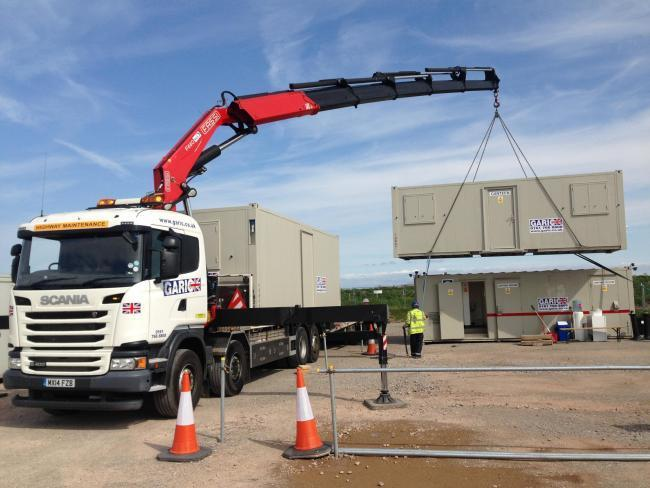 Turnover is up at Bury-based plant hire specialists Garic