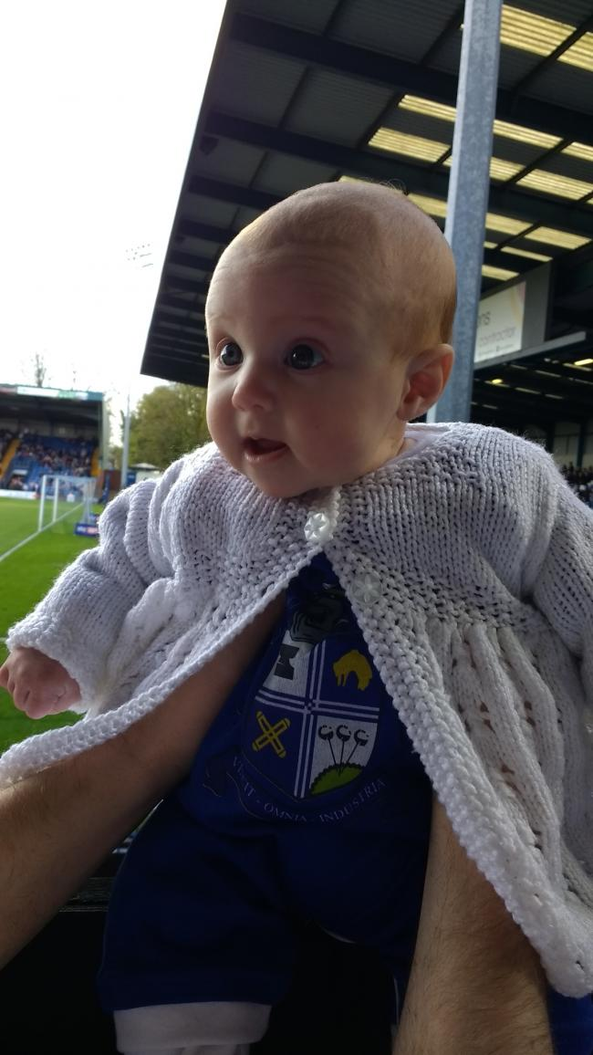 First match at 6 weeks old. Isla's dad and grandad have  been going all their lives.