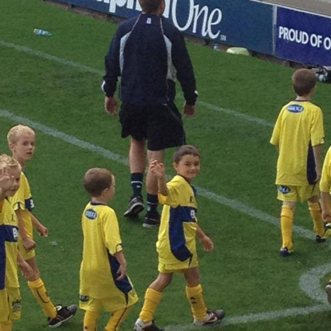 I used to be a season ticket holder as a kid so, One of my Favourite moments at Gigg Lane was watching my son Ryan do a lap of honour around Gigg when he played for Bury FC Youth in 2014.