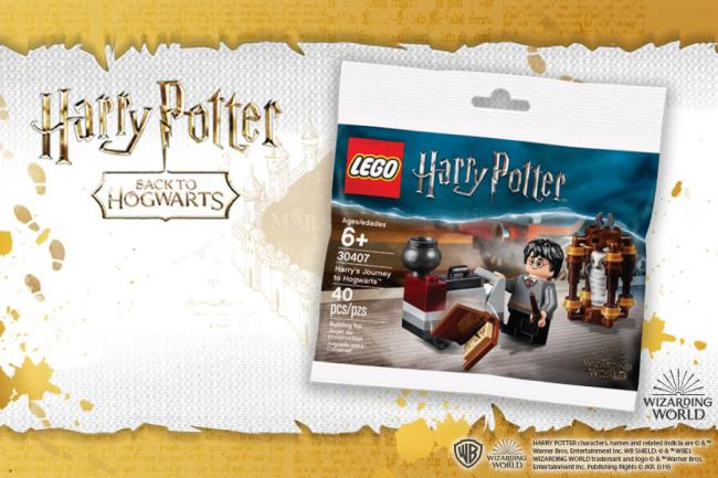 Smyths Toys is giving away FREE Harry Potter Lego