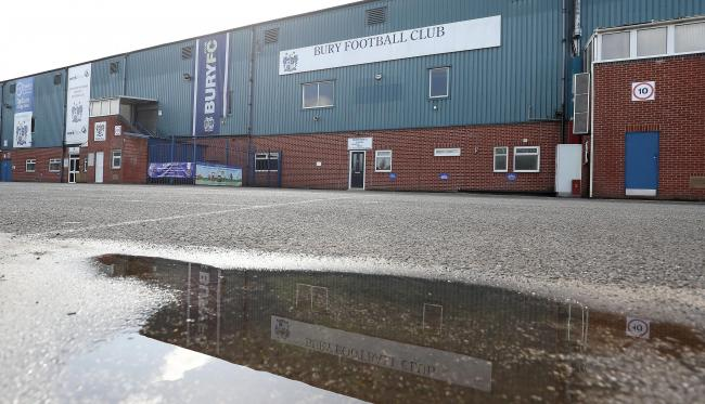 Bury FC are in the High Court on Wednesday