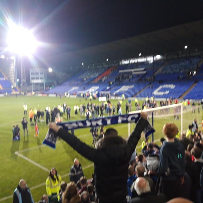 Photo I taken , Promotion at tranmere last season