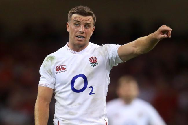 George Ford will start at fly-half on Sunday in Sapporo