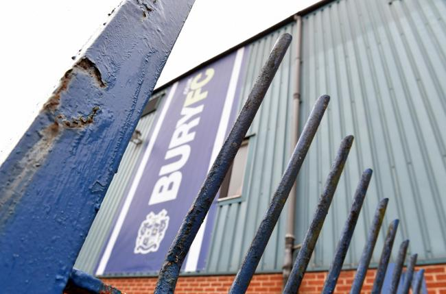 Bury fans hope they will be able to see football at Gigg Lane in 2021