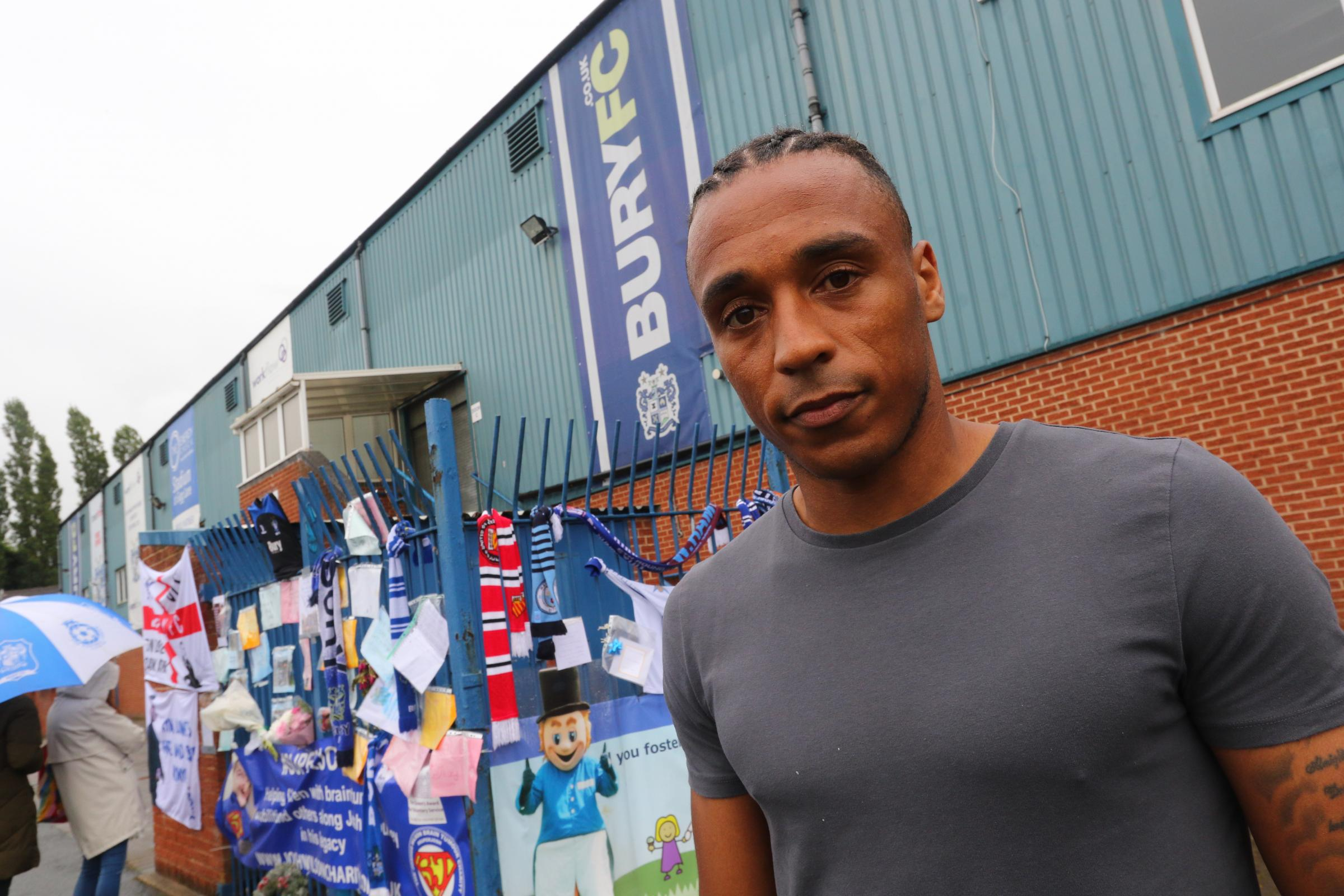 Neil Danns hopes for Bury reprieve as he joins Tranmere