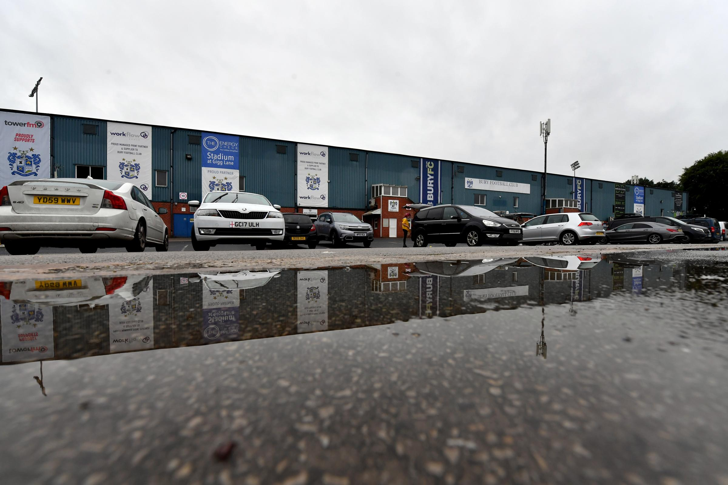 Bury FC owner Steve Dale tries for new debt deal
