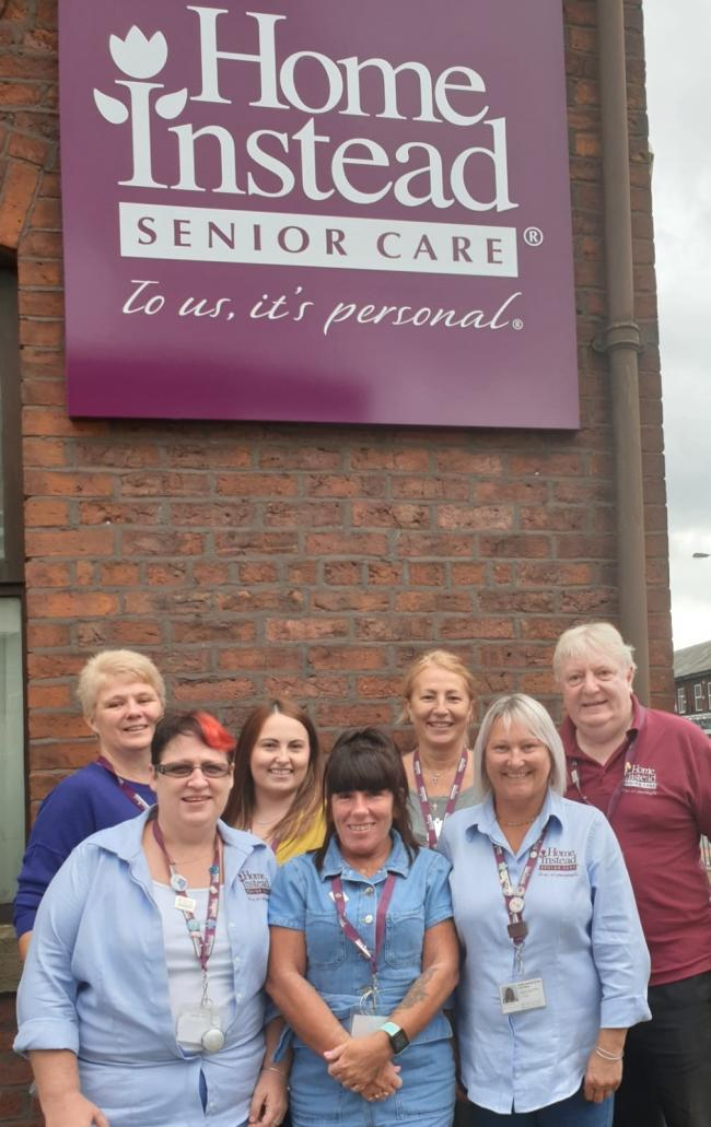 Home Instead Senior Care Bury team