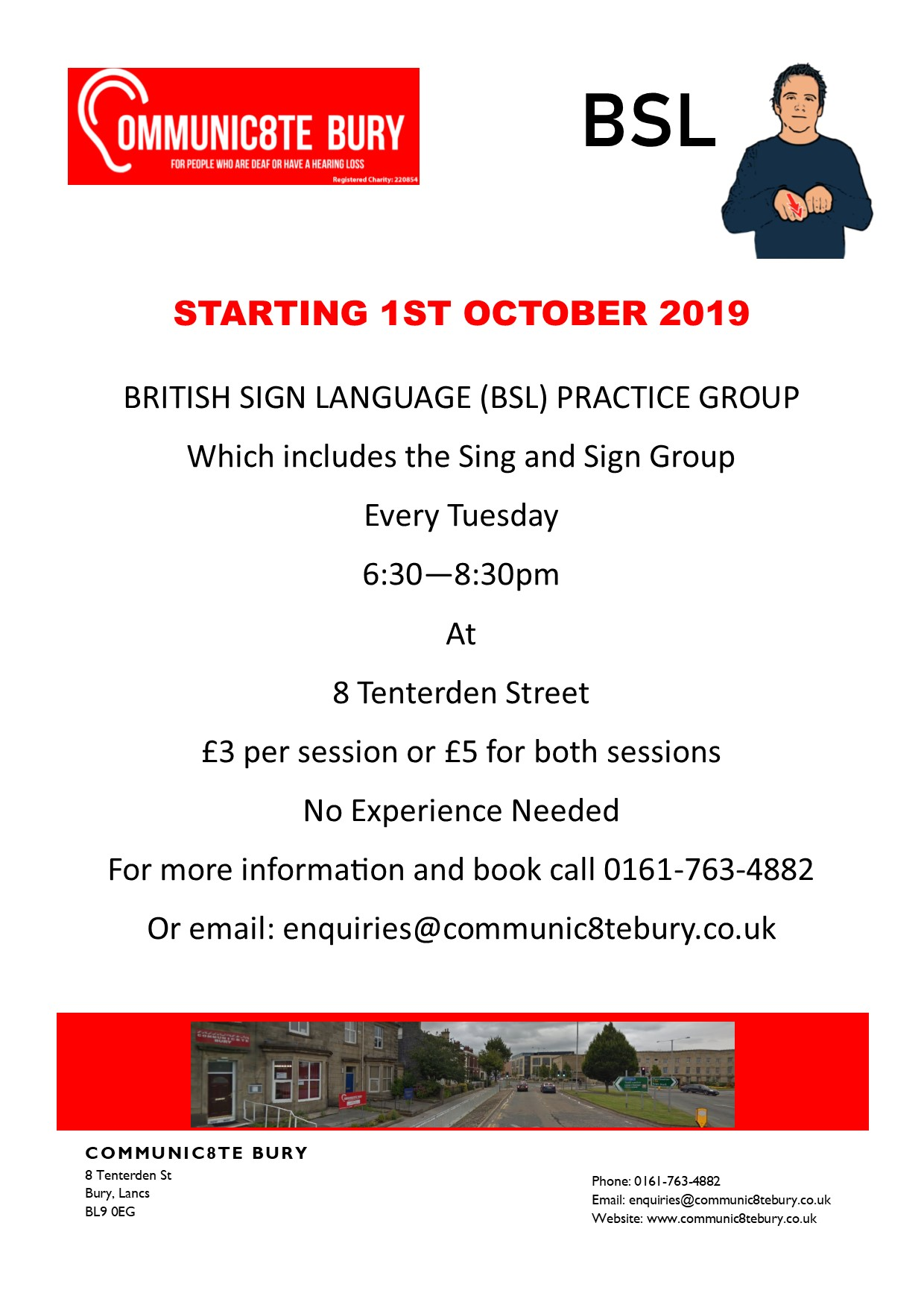 British Sign Language Practice Group