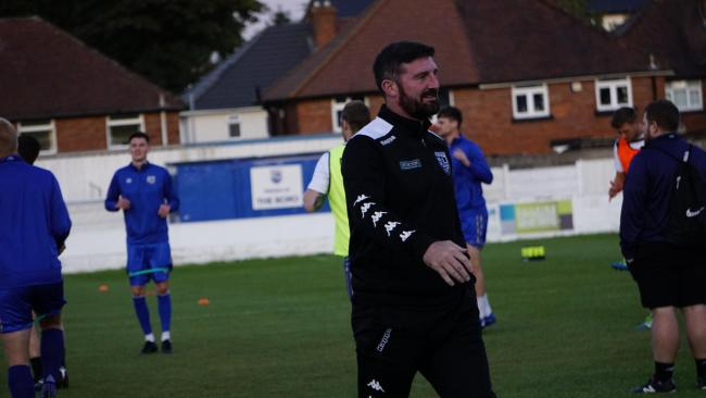 THAT WINNING FEELING: Jon Macken's Radcliffe got their first win of the season on Tuesday. Picture by Robert Duckworth