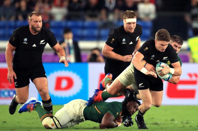 New Zealand saw off a spirited South Africa display to open their World Cup campaign with victory in Yokohama