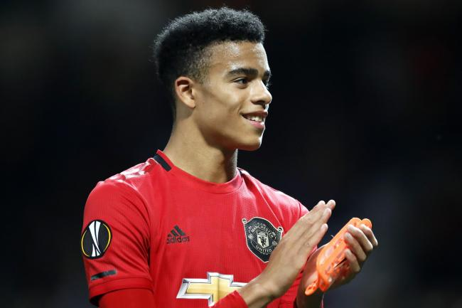 Mason Greenwood produced an impressive display in the Europa League.