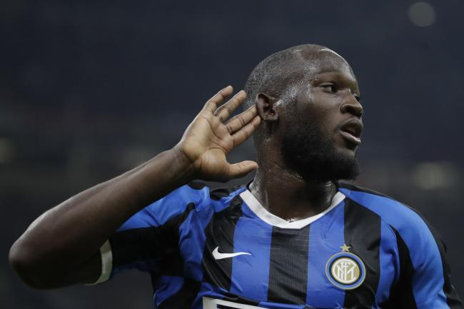 Romelu Lukaku scored Inter's second
