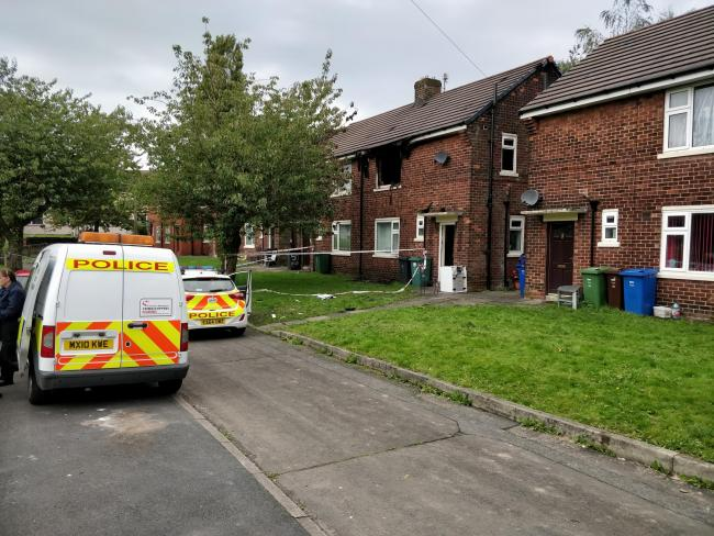 Man taken to hospital with serious burns after flat fire in Bury