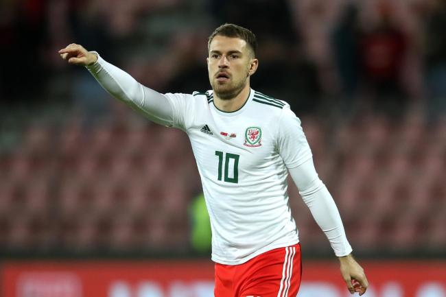 Wales are hoping Aaron Ramsey will return for their Euro 2020 qualifier against Slovakia in Trnava