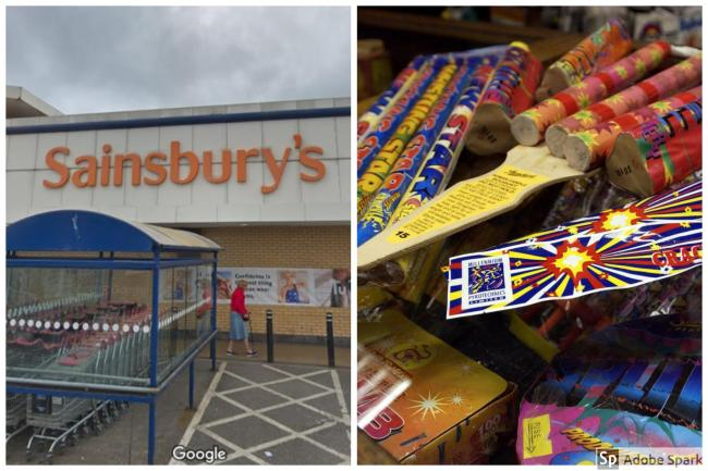 Sainsbury's has revealed it will not be selling fireworks this year.
