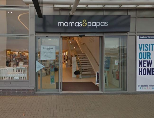 Mamas & Papas store in Preston. Picture: Google Maps