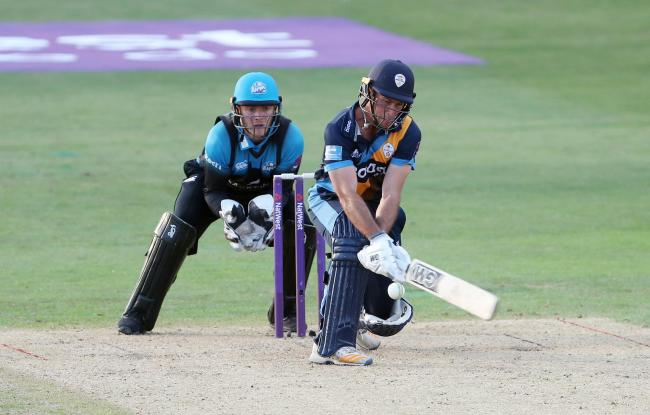 Wayne Madsen in action for Derbyshire