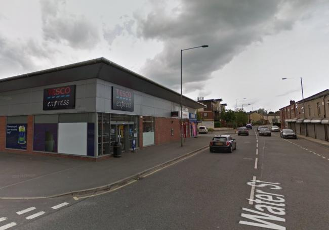 Tesco Express in Water Street, Radcliffe. Picture, Google Maps