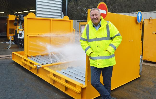 Jim Connolly, who is heading up the sales division for Bury-based Garic in Scotland