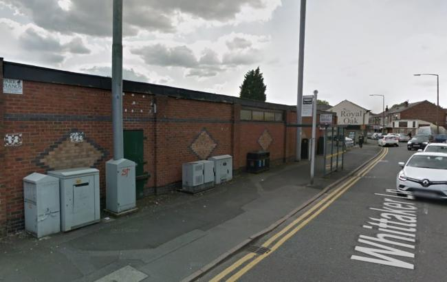 The former piano warehouse in Whittaker Lane, Prestwich. Picture, Google Maps