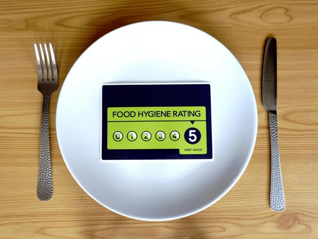 Does your favourite takeaway have a food rating of 5?
