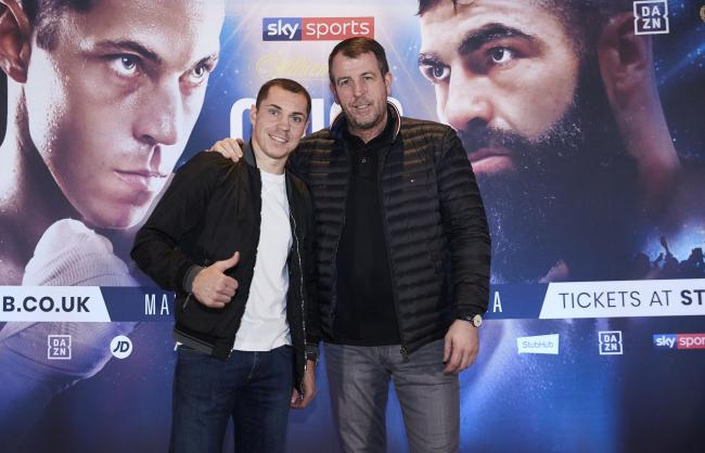 Scott Quigg is back with trainer Joe Gallagher ahead of his return to Manchester Arena when he fights Jono Carroll
