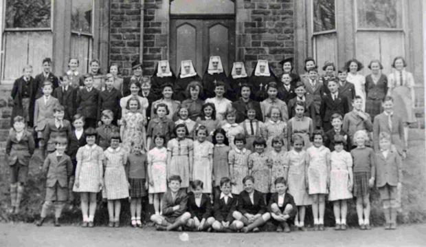 Bury Times: Evacuees from the Channel Islands at Hollymount, Tottington, during the Second World War