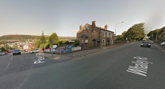 Whalley Road at the junction with Peel Brow, Ramsbottom. Picture, Google Maps