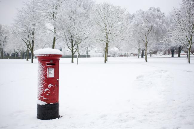 Library image of snow