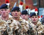 Heroes' welcome for Fusiliers