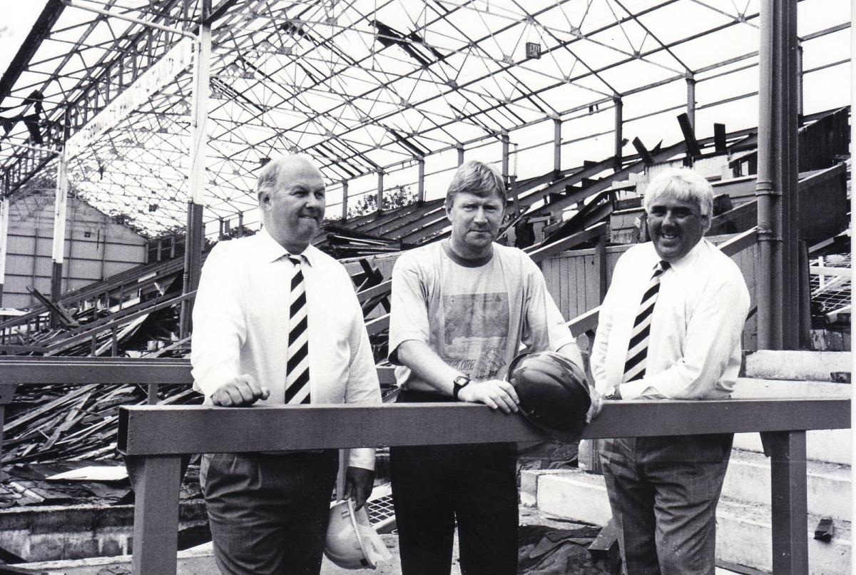 Bury FC through the years: Mike Walsh's plans to rebuild