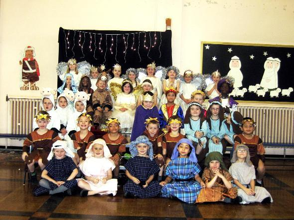St Joseph & St Bede RC Primary School pupils tell the Christmas story