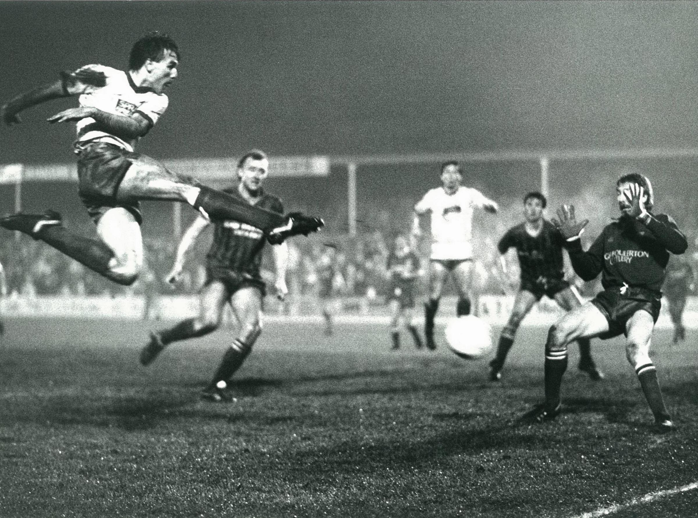 Bury FC through the years: Wayne Entwistle's place in FA Cup history