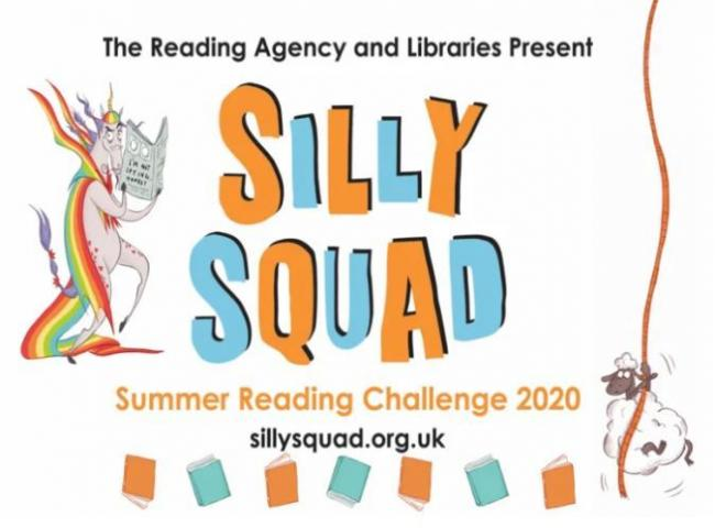 Silly Squad launch party as part of reading challenge | Bury Times