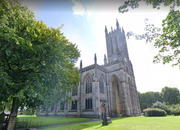 Bury Times: All Saints' Church in Church Lane, Stand, Bury. Photo: Google Maps