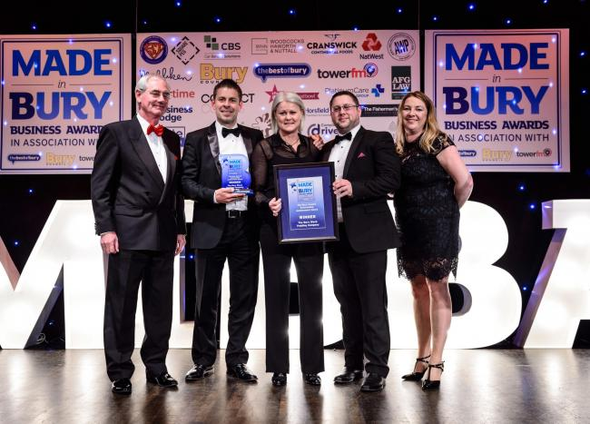 A flashback to the 2019 Made in Bury Business Awards