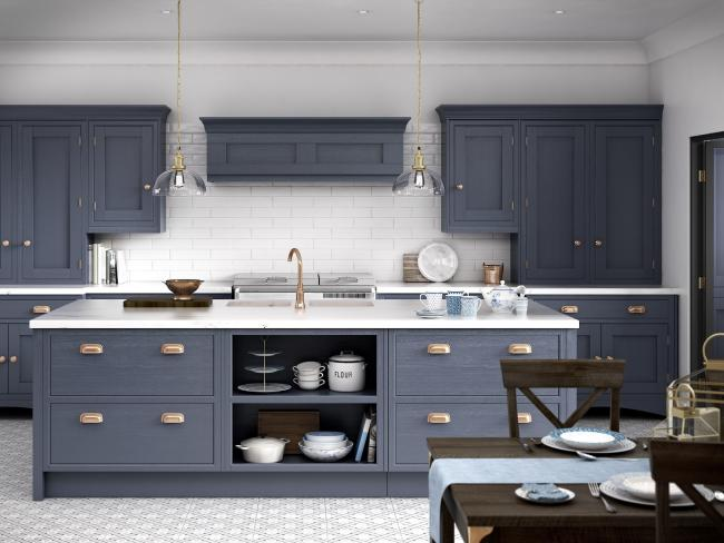 A kitchen designed by Bury-based Howarth Timber and Building Supplies