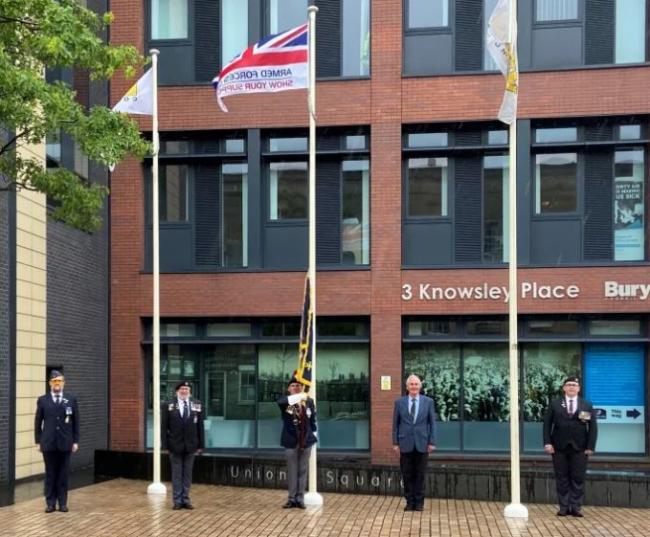 Armed Forces Day, Bury.