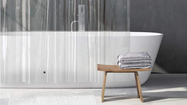 Bury Times: A clean shower liner will make your bathroom much more welcoming. Credit: Amazon