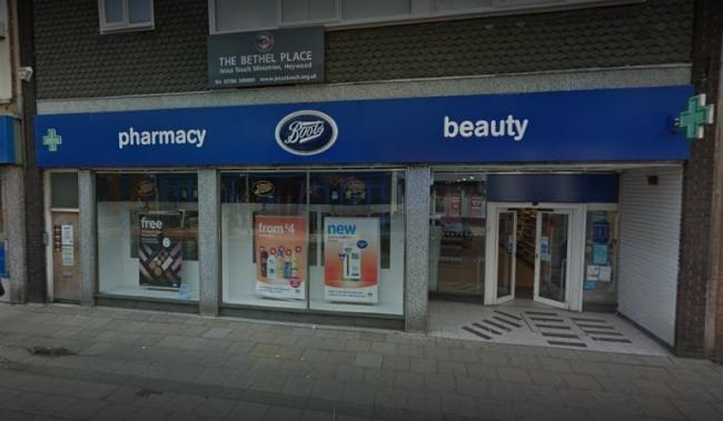 Boots in Market Street, Heywood