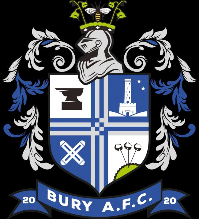 The new Bury AFC badge
