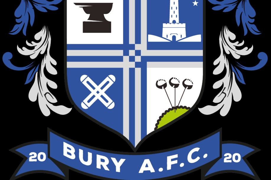 Bury AFC unveil new club crest